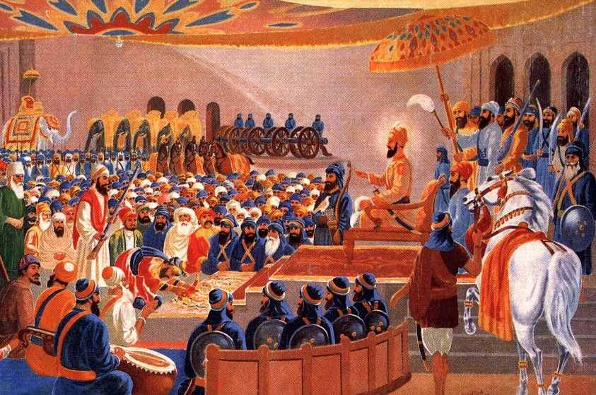 Court of Guru Gobind Singh Ji at Anandpur Sahib